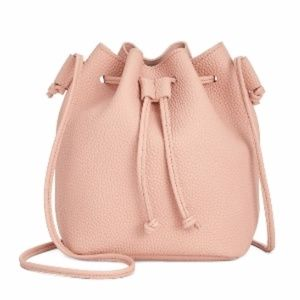 MACY'S Crossbody Bucket Bag